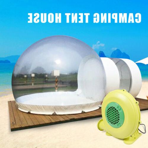 3M Inflatable Bubble Tent w/Quiet Air Blower Eco Home Tent D