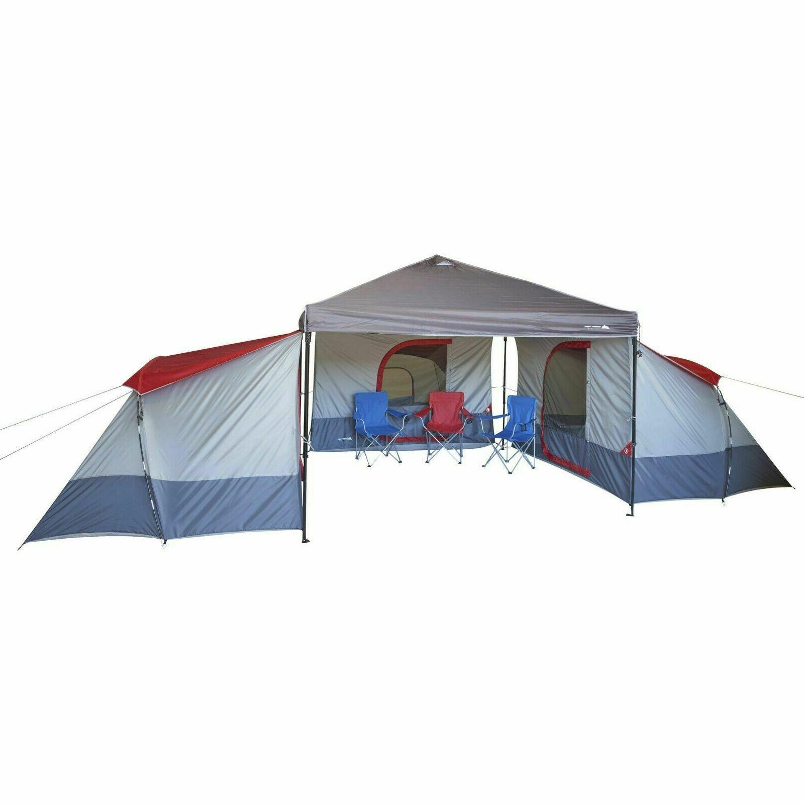 4-Person 9x7 ft ConnecTent for Straight leg Outdoor Canopy C