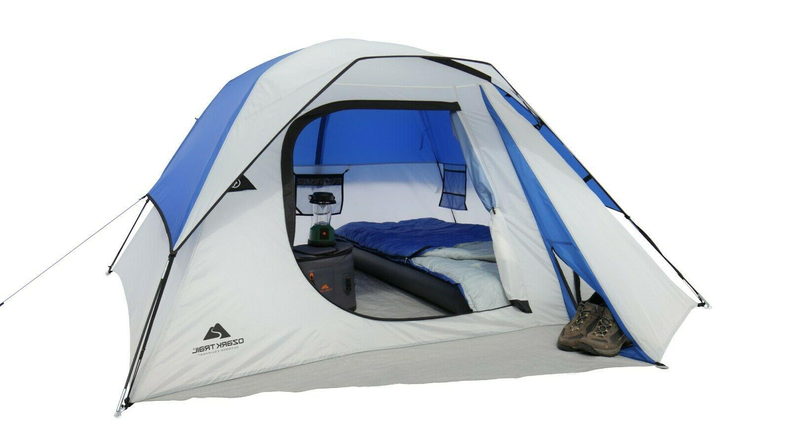 ozark trail 4 person outdoor camping dome