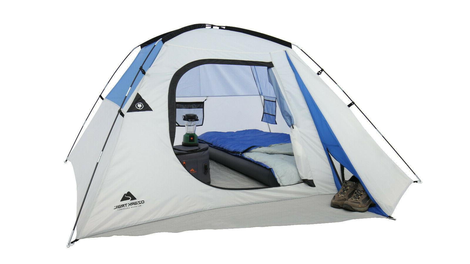 Ozark 4 Camping Dome Tent NEW