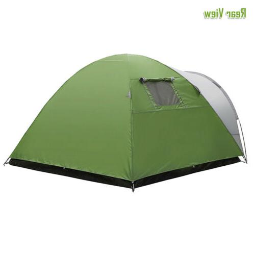 4 Person Tent Family Waterproof Layer Lightweight Outdoor