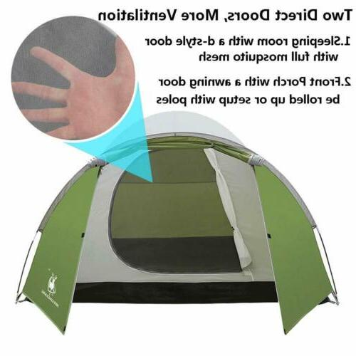 Family Dome Waterproof Double Layer