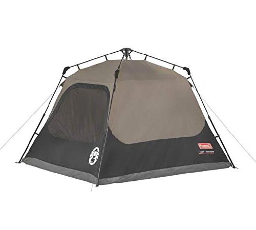Coleman 4-Person Cabin with Cabin Tent for Sets in Seconds