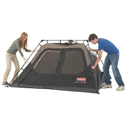 with Instant Cabin Tent Sets Seconds