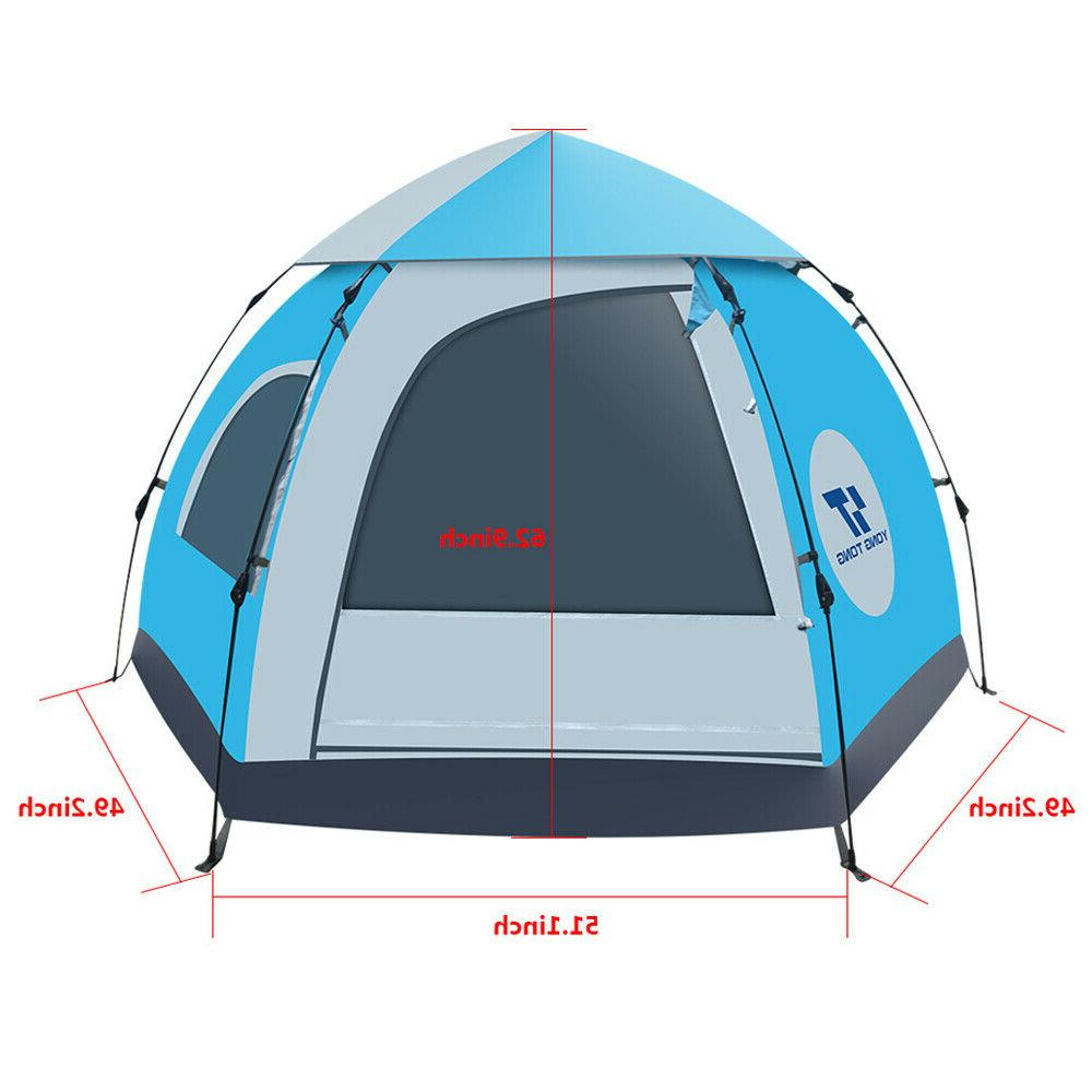 5-6 Camping Tent Automatic Instant Pop Up Tent