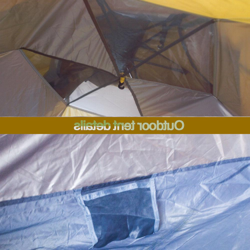 5-6 People Waterproof Automatic Outdoor Instant Tent Camping