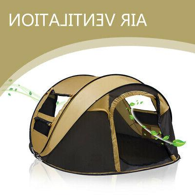 5-8 Person Pop Automatic Tent Family
