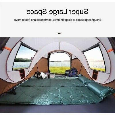 5-8 Persons Camping Waterproof Auto UV Sun Shelters