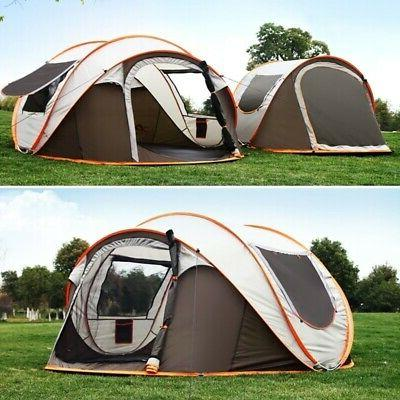 5 8 persons camping tent waterproof auto