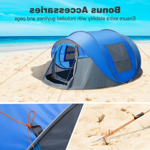 Waterproof All People Instant Family Tent