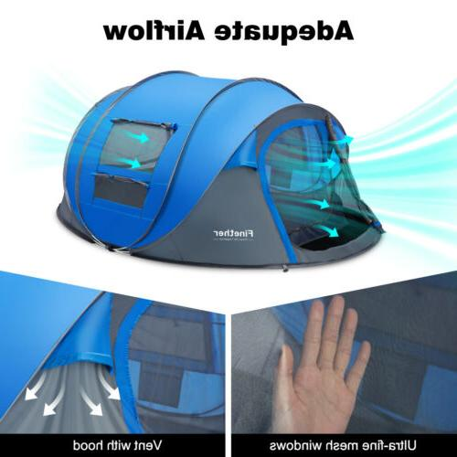 Waterproof Season People Pop Up Family Tent