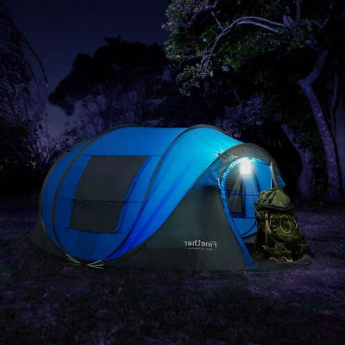 Waterproof All Season 5-6 People Family Camping Tent