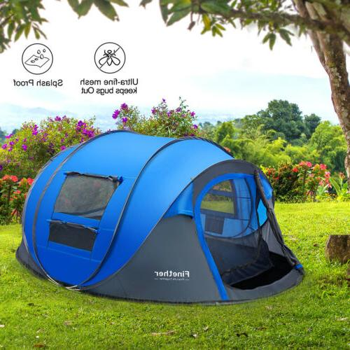 Waterproof People Instant Pop Family Tent Tent
