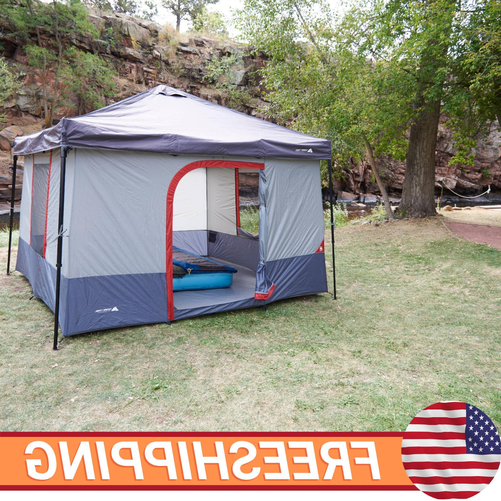 Ozark Trail 10 X 10 Ft Connect Tent Canopy Family Tent