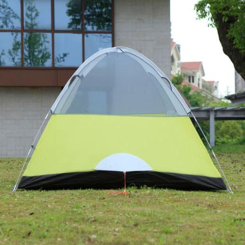 6-Person Dome Man Tent Backpacking Hiking