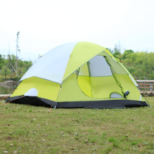 6-Person Dome Camping Tent Man Family