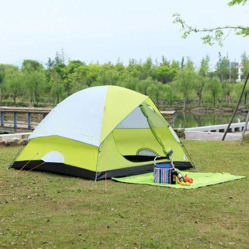 6-Person Dome Man Backpacking Traveling