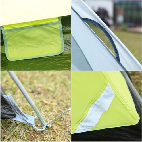 6-Person Dome Camping Tent Man Family Backpacking Traveling