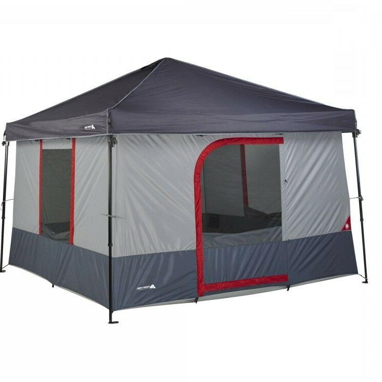 6 Person Instant Tent 10' x 10' Family Outdoor Camping Tents