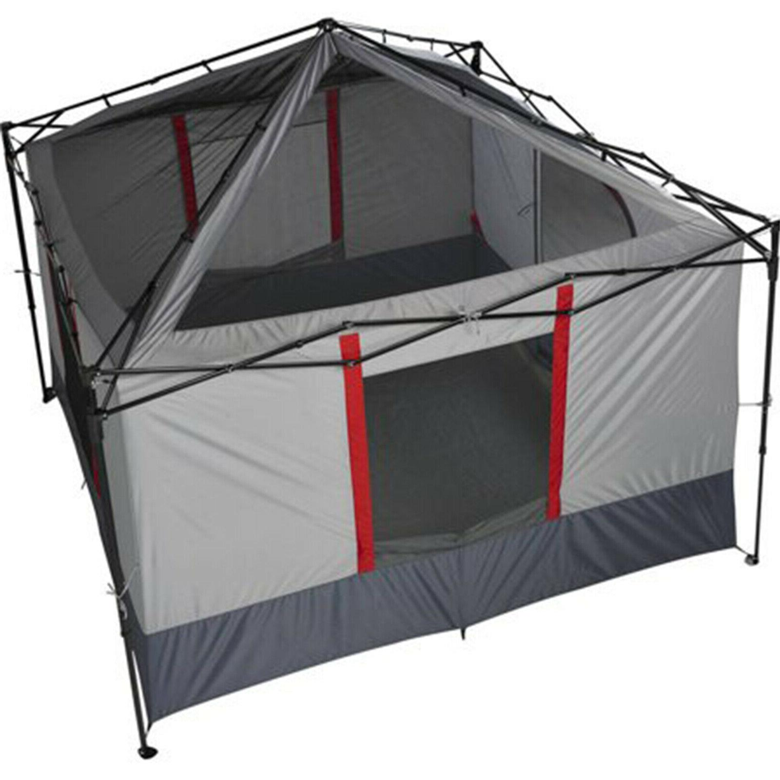 6-Person ConnecTenT Straight-leg Canopy Waterproof Hiking Camp