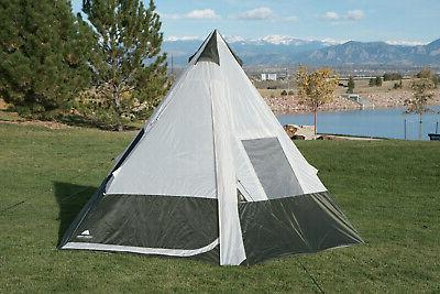 Ozark Trail Tent Without Obstruction