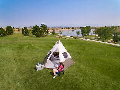 Ozark Tent Without Obstruction Camping