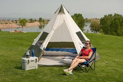 Ozark Teepee Tent Without Center Obstruction
