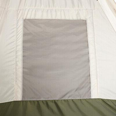 Tent Obstruction Hiking