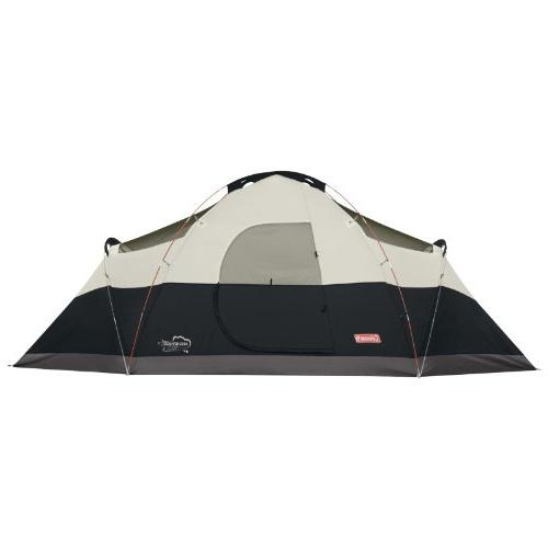 Coleman 8-Person Red Tent,