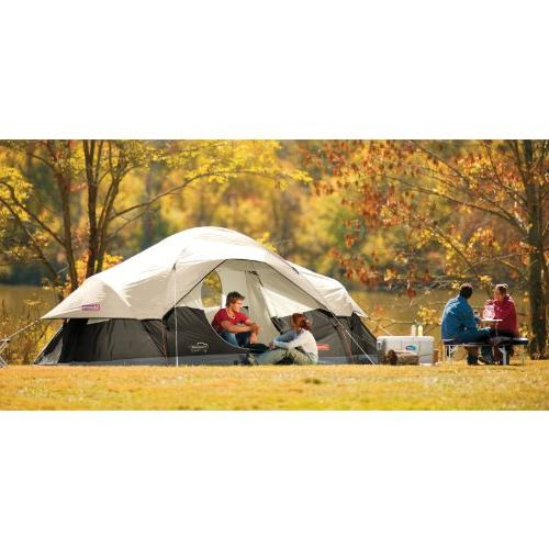 Coleman Red Tent,