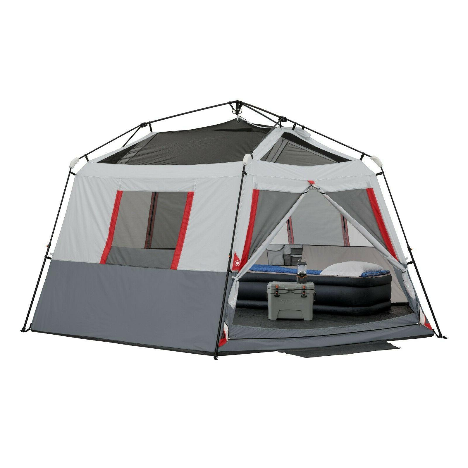 Ozark Trail 8 Person Instant Hexagon Tent With Led
