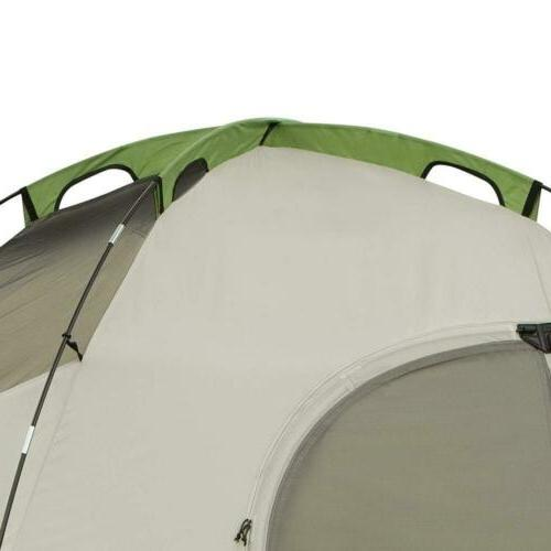 Coleman 8-Person Tent for Camping with Easy