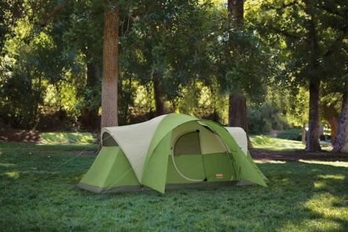 Coleman 8-Person Tent Camping with Easy