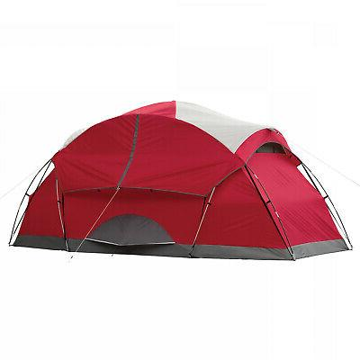 8 Person Instant Tent Camping Dome Hiking Family