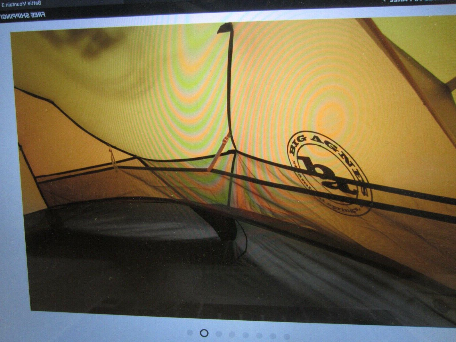 Big Agnes 2 Tent NEW Tags