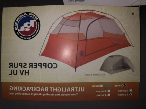 Brand Copper HVUL2 Backpacking Tent Incl.