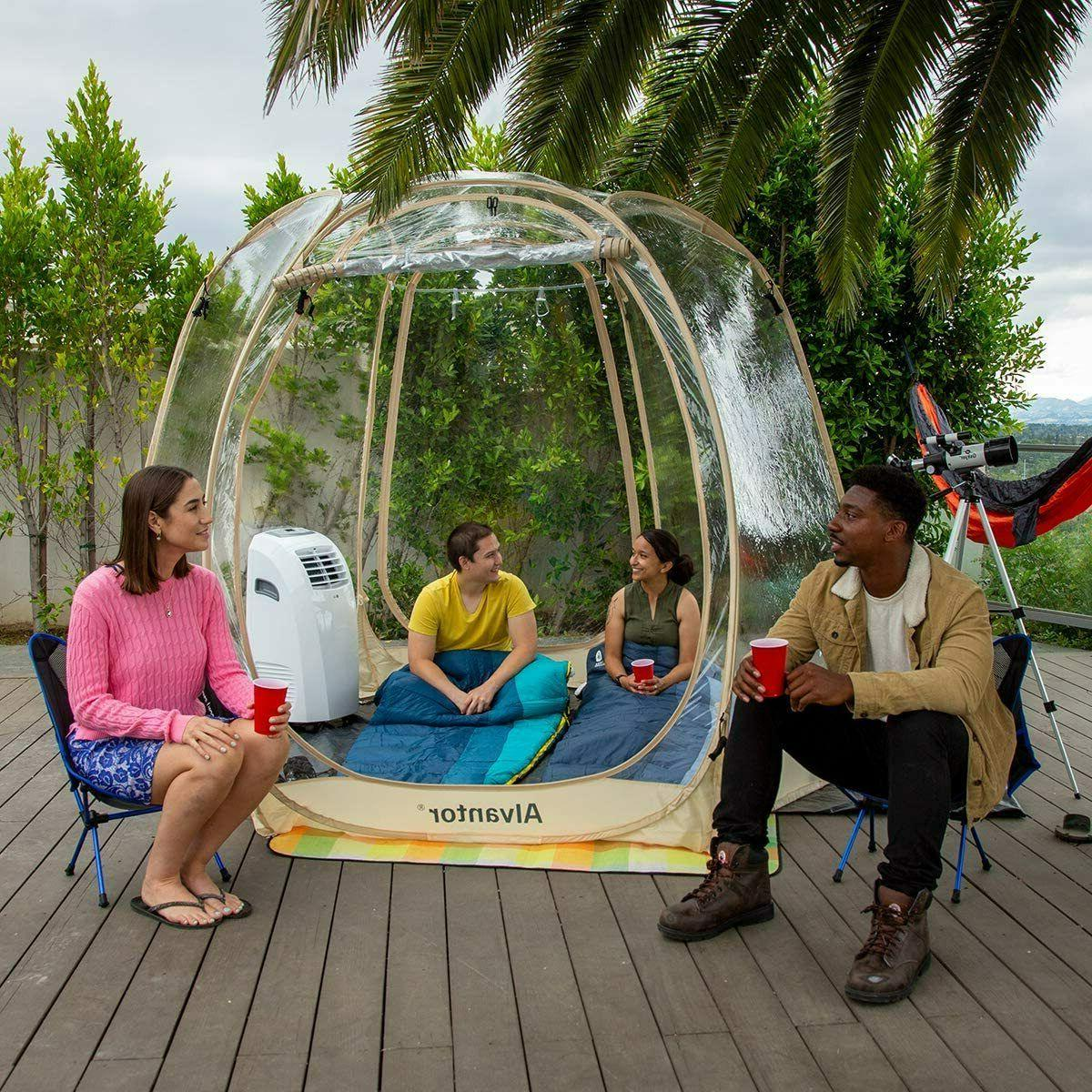 Bubble Tent Camping Gazebos for Up Portable 10'x10'