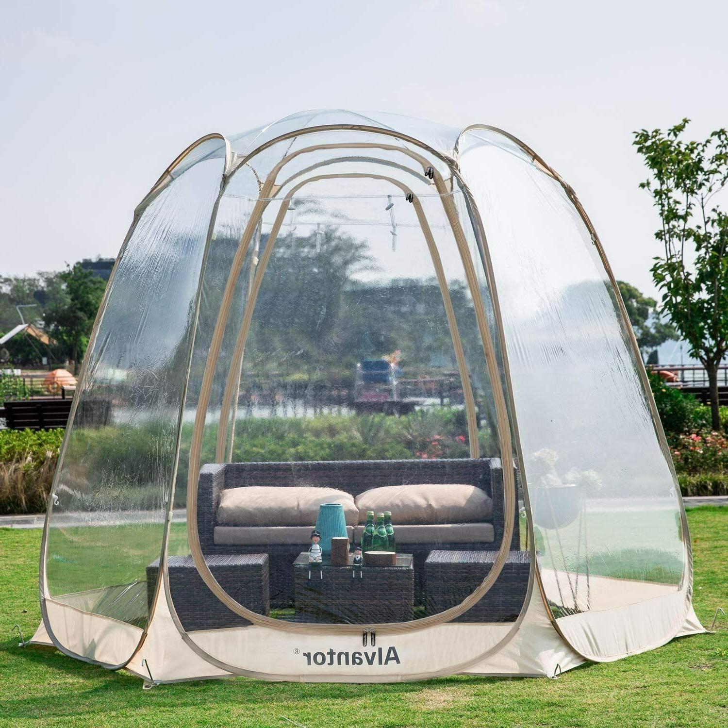 bubble camping tent camping gazebos for patios