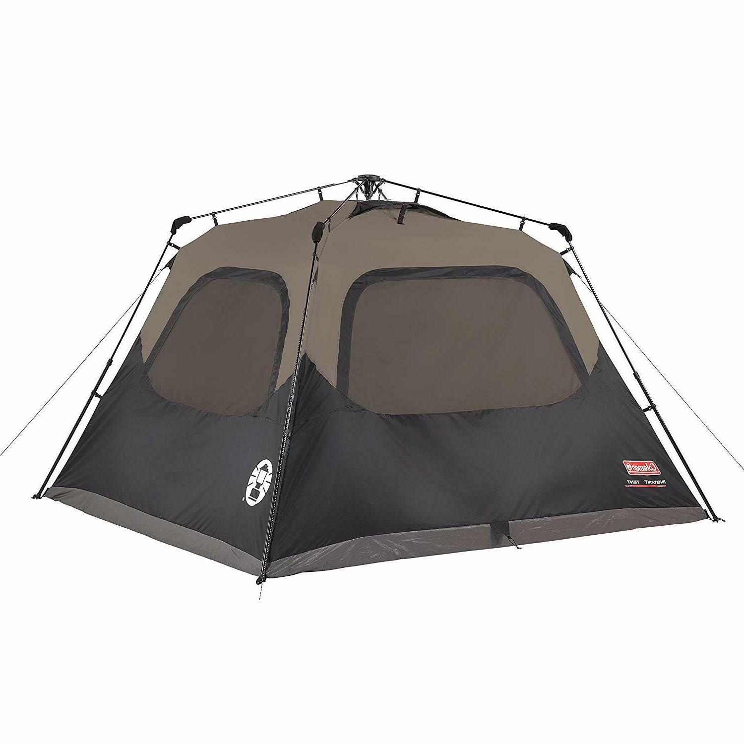 6 person cabin tent with instant setup