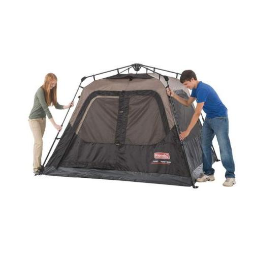 Coleman Cabin Tent with Instant Setup for Camping Sets 60