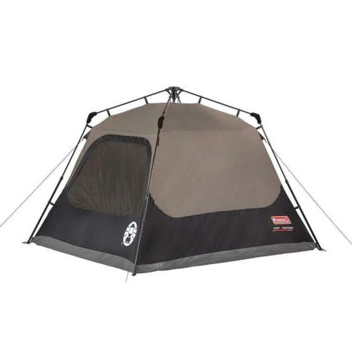 Coleman Cabin Tent with Instant Setup Camping Up 60 Seconds