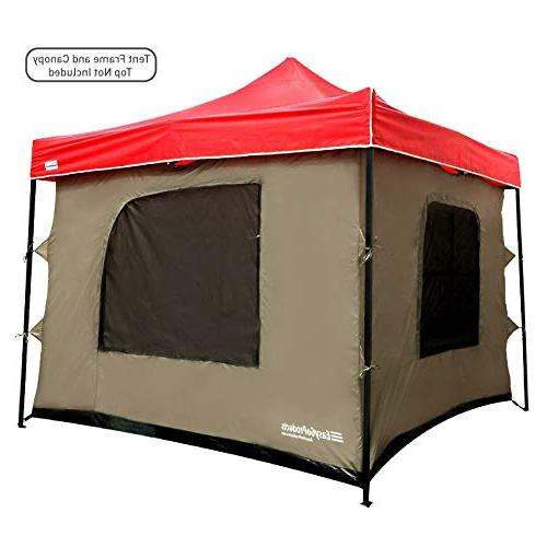 camping tent attaches any easy