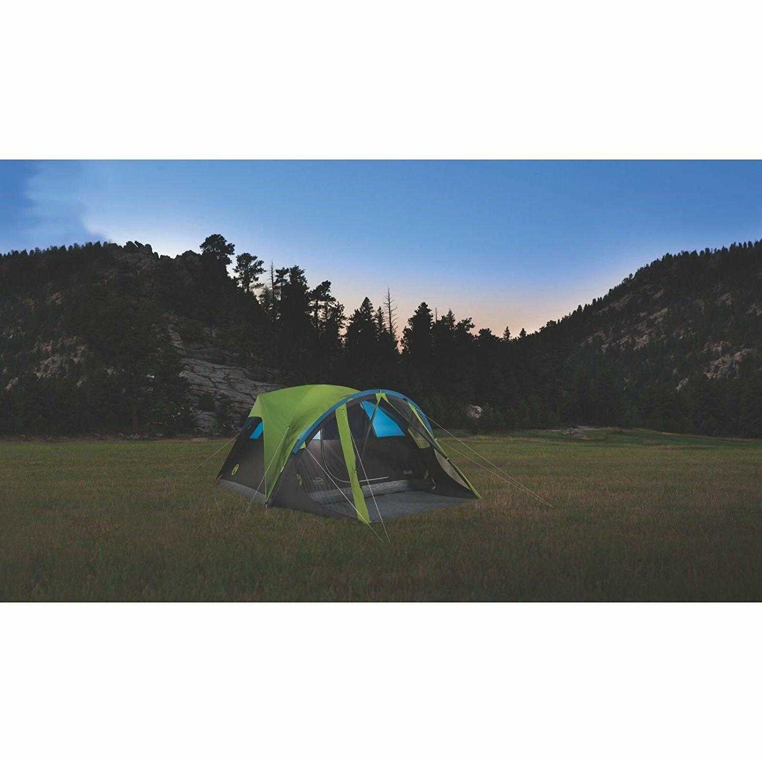Coleman Carlsbad Dark Room Tent with Screen Room