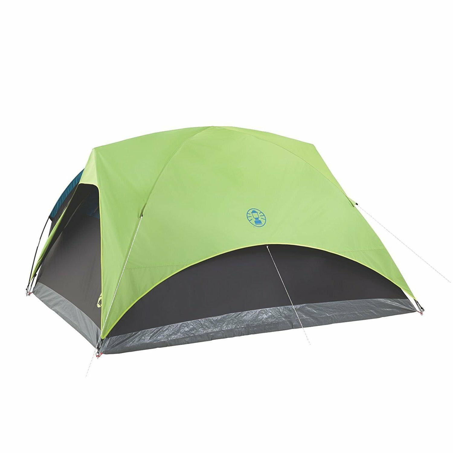 Coleman Carlsbad Dome Dark Room Tent Screen Room