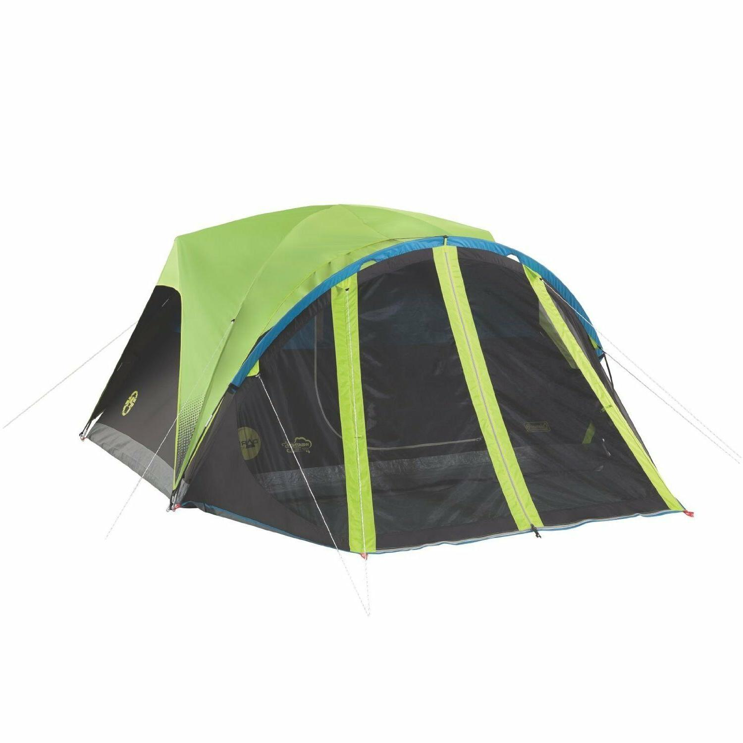 carlsbad 4 person dome dark room tent