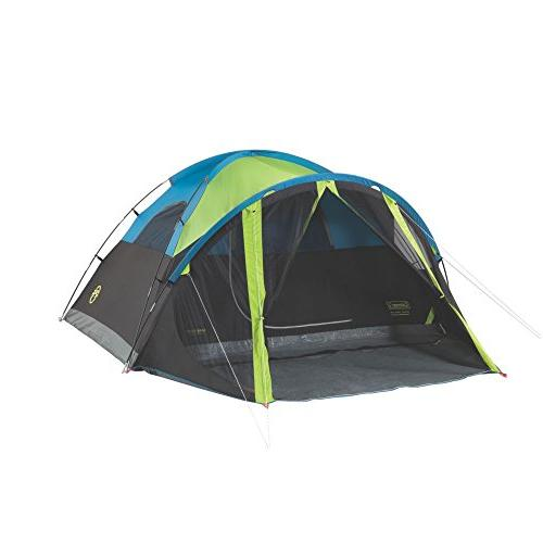 Coleman 4-Person Dome Tent with Screen Room