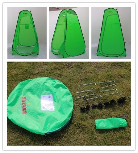 Changing Room Pop Privacy Toilet Portable Tent Shower Dressing Carry Waterproof Sports by Hubble