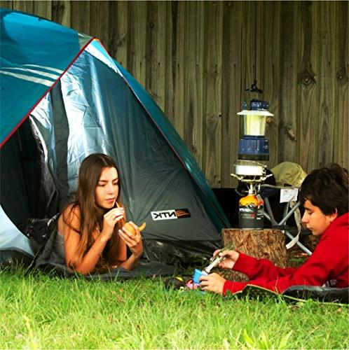 NTK GT to 6 Person by 9.8 Foot Dome Assembly, Durable Fabric Coverage Rainfly - Mosquito Mesh