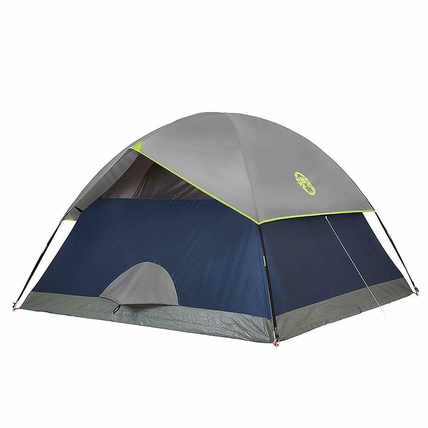 4 Person Camping Instant Tent Easy Automatic Pop Up Tents Wa