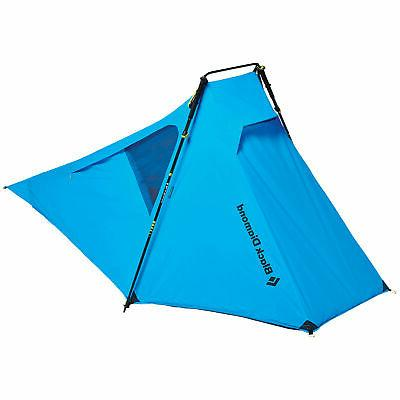 Black Distance Tent with Poles